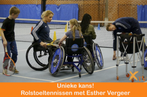 Tennisclinic met tennislegende Esther Vergeer