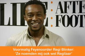 Voormalig Feyenoorder Regi Blinker