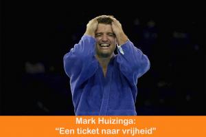 Voormalig olympisch kampioen judo Mark Huizinga