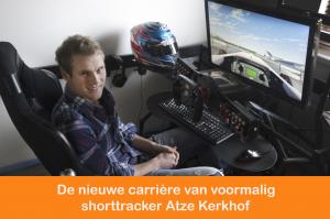 Afl. 34: De nieuwe carrière van voormalig shorttracker Atze Kerkhof