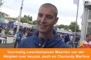 Voormalig zwemkampioen Maarten van der Weijden
