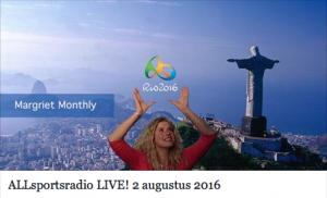 Radio-uitzending ALLsportsradio 2 aug 2016