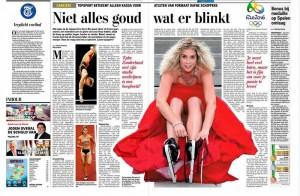 Artikel Telegraaf: Niet alles goud wat er blinkt
