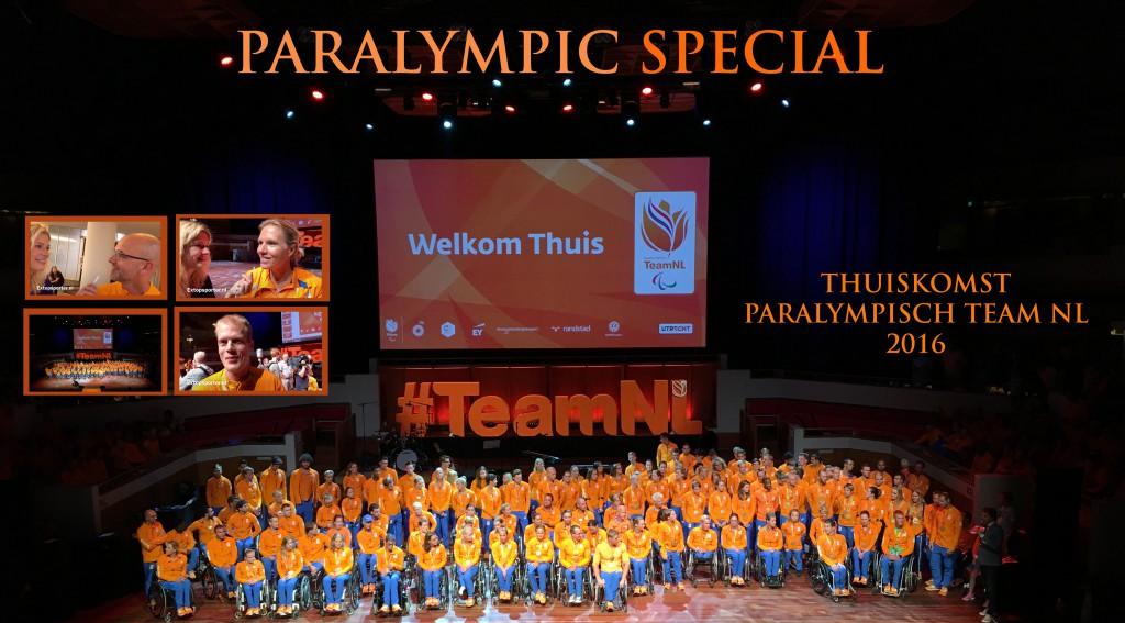 Thuiskomst Paralympisch TeamNL 2016